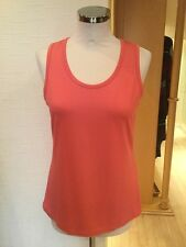 Faber Top Size 10 BNWT Coral RRP £50 Now £20