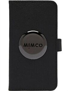 MIMCO FLIP CASE FOR IPHONE XR - Black Gunmetal - RRP $99.95 - 100% Genuine