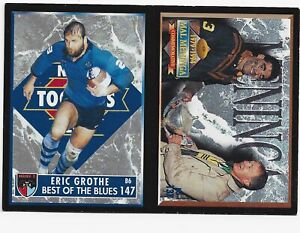 1994 Rugby League Series 2 Dynamic Marketing twin promo card (147/137)
