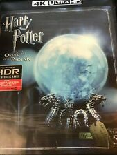 HARRY POTTER & THE ORDER OF THE PHOENIX ( 4k HD Blu-ray ) no slip / unsured code