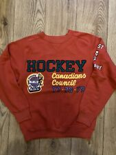 Vintage Best Company Sweatshirt 'Hockey' Size S.