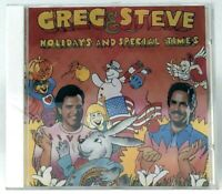 NEW SEALED Greg & Steve: Holidays and Special Times CD (YM 009CD, 1989)