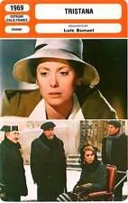 FICHE CINEMA : TRISTANA - Deneuve,Rey,Nero,Bunuel 1969