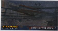 STAR WARS TOPPS REVENGE OF THE SITH WIDEVISION ROTS RETAIL CHROME FOIL INSERT R2