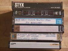 Cassette Tapes Richard Marx Gloria Estefan Styx Jimmy Buffet pop rock classic