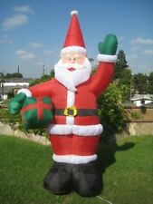 8 FT Gemmy Airblown Santa Present Prop Christmas Decor Decoration