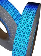 Blue High Intensity Reflective Tape (25mm,50mm & 100mm * 1m,2m,2.5m,3m,4m & 5m)