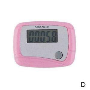 LCD Digital Step Pedometer Walking Calorie Counter Clip Distance New Belt T7M3