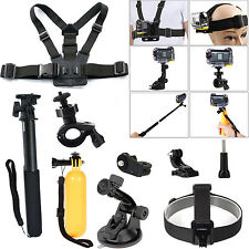 Go Pro Accessories Kit for Sony Action Cam HDR-AS15/AS20/AS30V/AS100V/AS200V/AZ1
