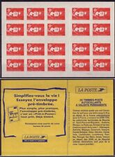 Carnet C2874-C9 (type II) - Marianne de Briat - Essayez l'enveloppe pré-timbrée