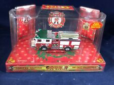 O-99 CODE 3 DIE CAST 1:64 SCALE FIRE ENGINE - 1999 CHRISTMAS EDITION #2