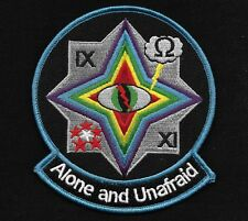 USAF CIA UAV Desert Prowler ALONE AND UNAFRAID Collectors Patch