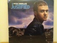 JUSTIN     TIMBERLAKE                LP      JUSTIFIED      ( SEALED )