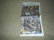 Cleveland Cavs NBA 6/23/16 Plain Dealer Newspaper LEBRON JAMES VICTORY PARADE