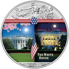 USA - 1 Dollar 2020 - Silver Eagle - White House (7.) - 1 Oz Silber ST