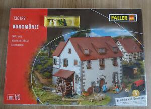 Faller H0 130189 Burgmühle mit Preiser Figuren Müller