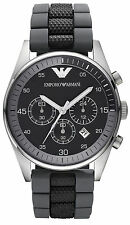 Emporio Armani Black/Silver Quartz Analog Men