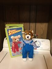 Vintage 1986 Sking Champion Musical Bear Melody Battery Operated Cute