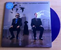 "BIFFY CLYRO - SATURDAY SUPERHOUSE  7"" BLUE VINYL PLUS POSTER"