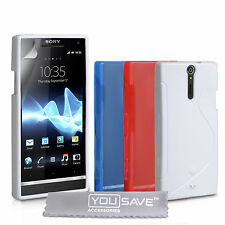 Accessories For The Sony Xperia S LT26i Stylish Silicone Gel Case Cover Skin UK