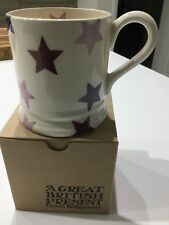 Emma Bridgewater Pancreatic Cancer Purple Star Half Pint Mug NEW