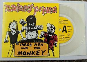 "Nukey Pikes Three Men and The Monkey 7"" Vinyl Record - Septic Death Poison Idea"