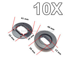 10X Floor Mat Fastener, Carpet Mat Retainer for VW, Seat, Skoda