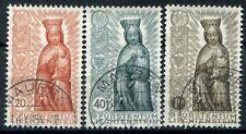 Liechtenstein 1954 Year Mariano Complete Series Used Unified 291-293