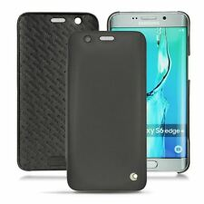 Noreve Leather Book Case for Samsung Galaxy S6 Edge Plus - Black