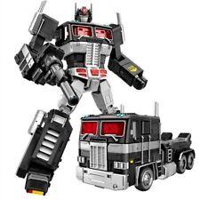 Black Transformer Masterpiece MMP10 Optimus Prime Action Figure Transfiguration