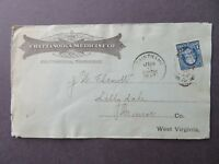 US 1897 Commercial Cacheted Cover / Saint Elmo Tenn CDS - Z7743