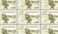 1985 - WORLD WAR I VETERANS #2154 Full Mint -MNH- Sheet of 50 Postage Stamps