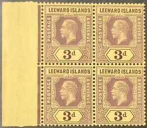 Leeward Islands #SG51dw MNH CV£1800.00 1913 KEVII [Inverted Watermark][51 Mi51]