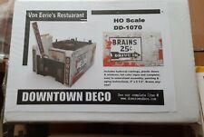 Ho Scale Structure .Downtown Deco.Von Eries. NIB.