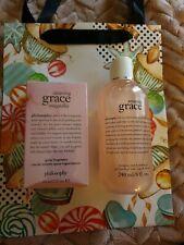 Philosophy Amazing Grace Magnolia 60ml Edt & Shampoo Bath & Shower Gel 240ml