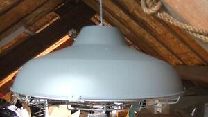 Qazqa Lucas . Industrial look pendant lamp . Caged