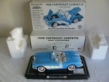 Gearbox 1/12 Scale Blue 1958 Chevrolet Corvette #17903 NIB