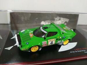 1/43 IXO Altaya Lancia Stratos HF Bagration Rally RACE 1979 Rallye