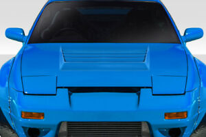 Nissan Silvia 180sx D1 Style Fibeglass Bonnet
