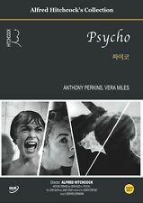 Psycho,1960 (DVD,All,Sealed,New) Alfred Hitchcock