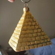 Gold Pyramid Kurt S Adler Polonaise Egyptian Collection by Komozja New