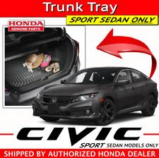 🔥 Genuine Honda CIVIC SPORT SEDAN (ONLY) Cargo Trunk Tray (08U45-TBA-100A) 🔥