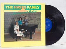 THE HAYES FAMILY...Instrumental Praises vinyl LP NM Janet,Sharon & MYLON