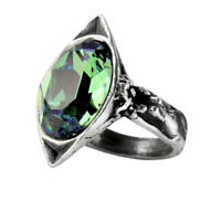 Alchemy of England Gothic Punk Absinthe Fairy Spirit Crystal Swarovski Ring R120