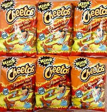 6 Bags Of 3.5oz Flamin Hot Crunchy Cheetos Genuine American Import UK Seller