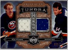 2006-07 UD Artifacts Dual Jersey Bob Nystrom Bourne NY New York Islanders /125