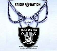 BACK IN STOCK! OAKLAND RAIDERS CHOKER NECKLACE - FOOTBALL JEWELRY  FREE SHIP