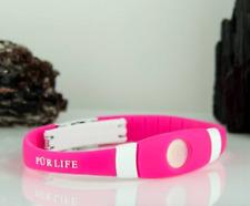 Authentic Pur life Negative Ion Bracelet EXTREME Pro Pink white  Purlife BALANCE
