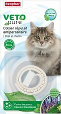 Beaphar Collier Insectifuge Chat chaton anti puces tiques poux moustique animal
