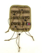 LBT Coyote Brown Tan Medical Kit Pouch Hook In Organizer Bungee/MOLLE Insert